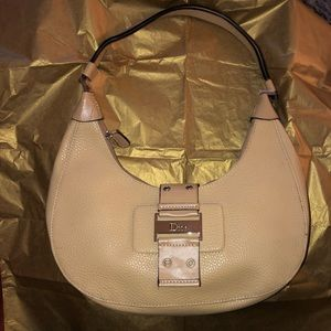 Dior Vintage Hobo Leather Tan *Must Have*👜